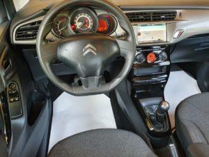 Unutrašnjost - Citroën C3 1.6 blue hdi srebrni